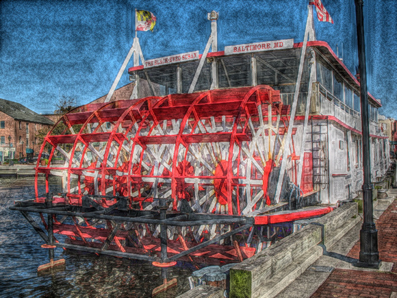 Baltimore Paddleboat